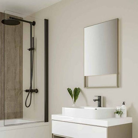 Multipanel Neutrals Collection Creamy White Bathroom Wall Panel