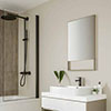 Multipanel Neutrals Collection Creamy White Bathroom Wall Panel profile small image view 1