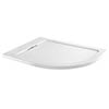 Moda Offset Quadrant Hidden Waste Low Profile Shower Tray profile small image view 1