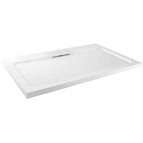 Moda Rectangle Hidden Waste Low Profile Shower Tray