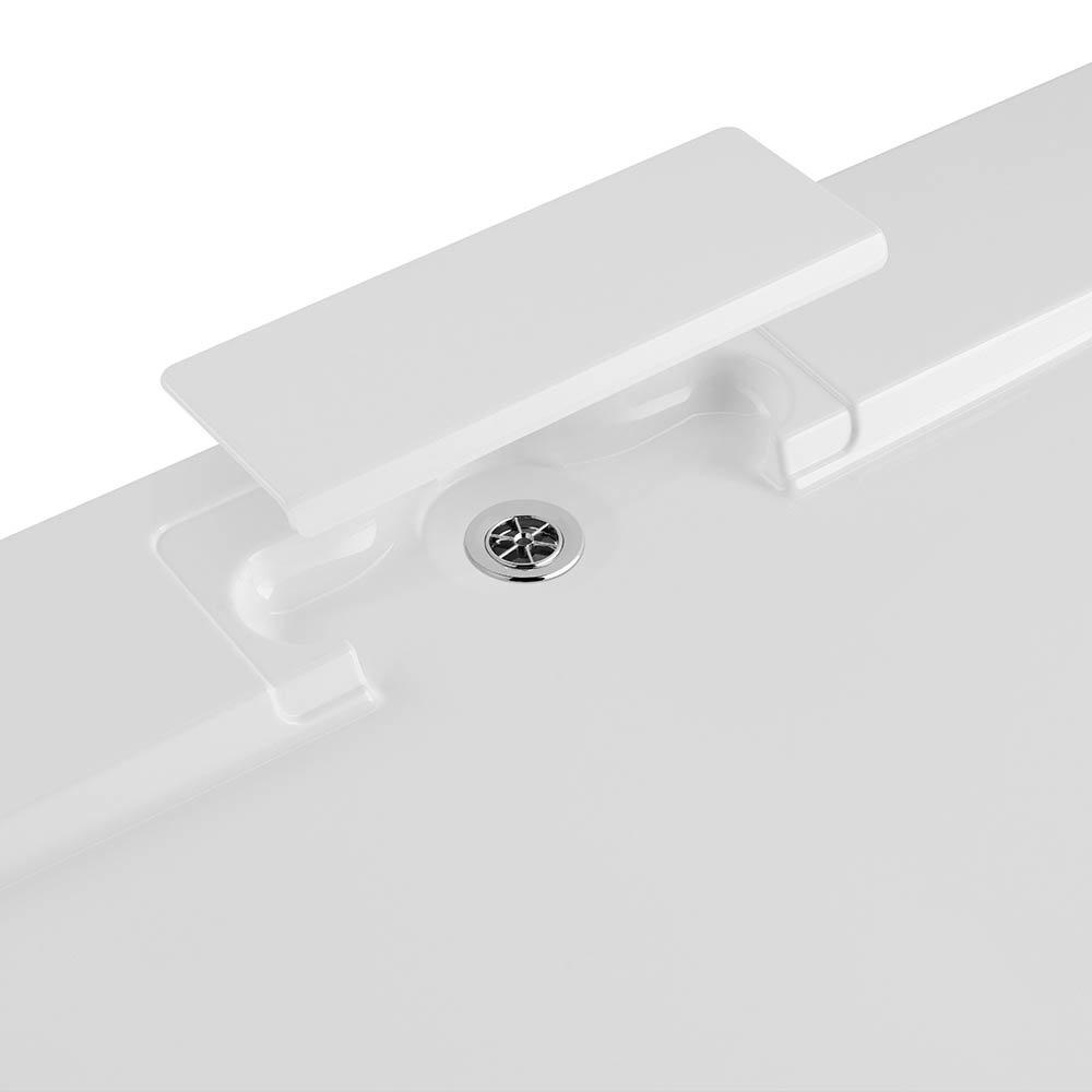 Moda Rectangle Hidden Waste Low Profile Shower Tray