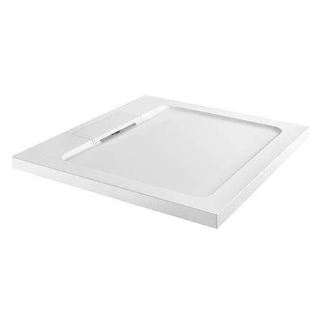 Moda Square Hidden Waste Low Profile Shower Tray