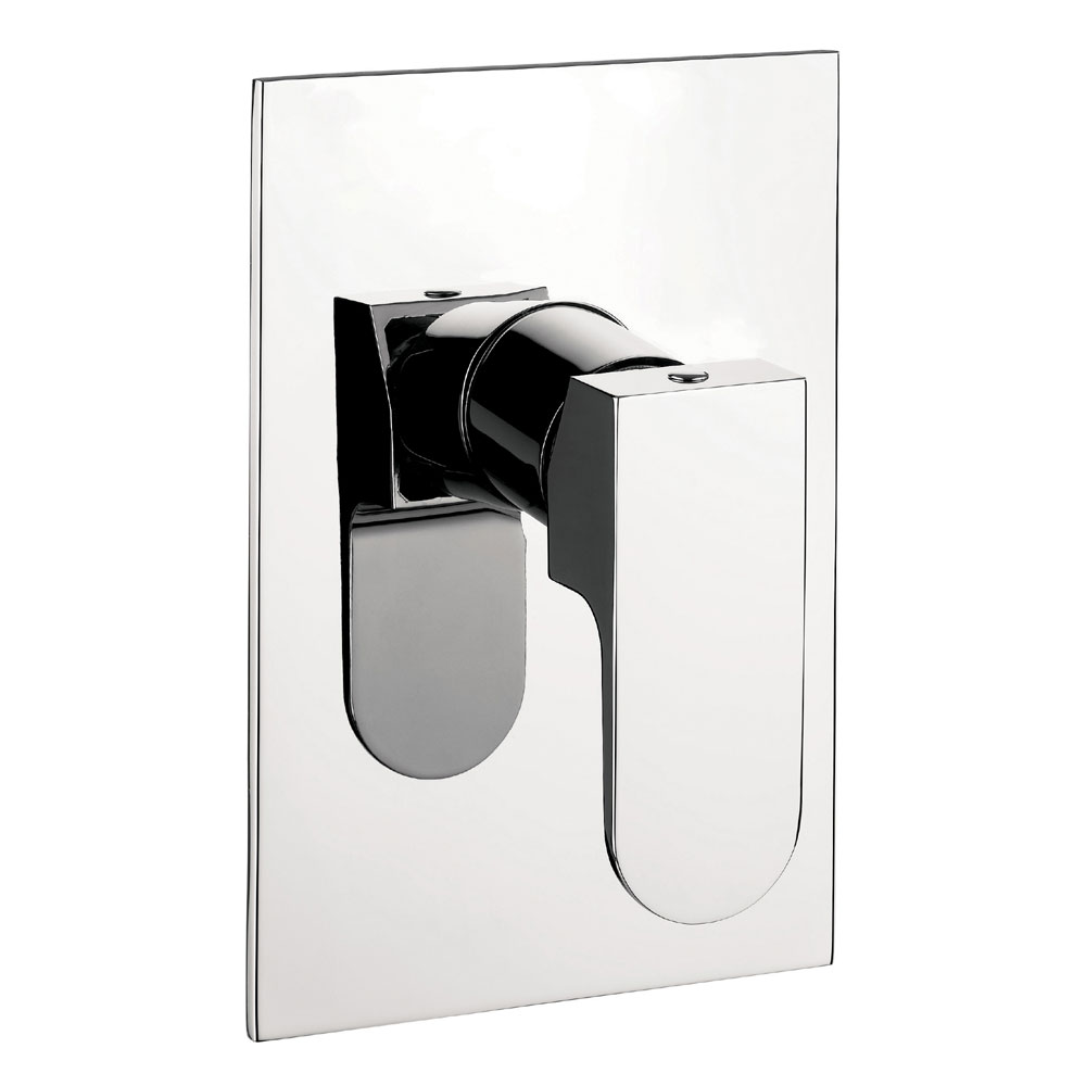Crosswater - Modest Concealed Manual Shower Valve - MO0004RC profile large image view 1