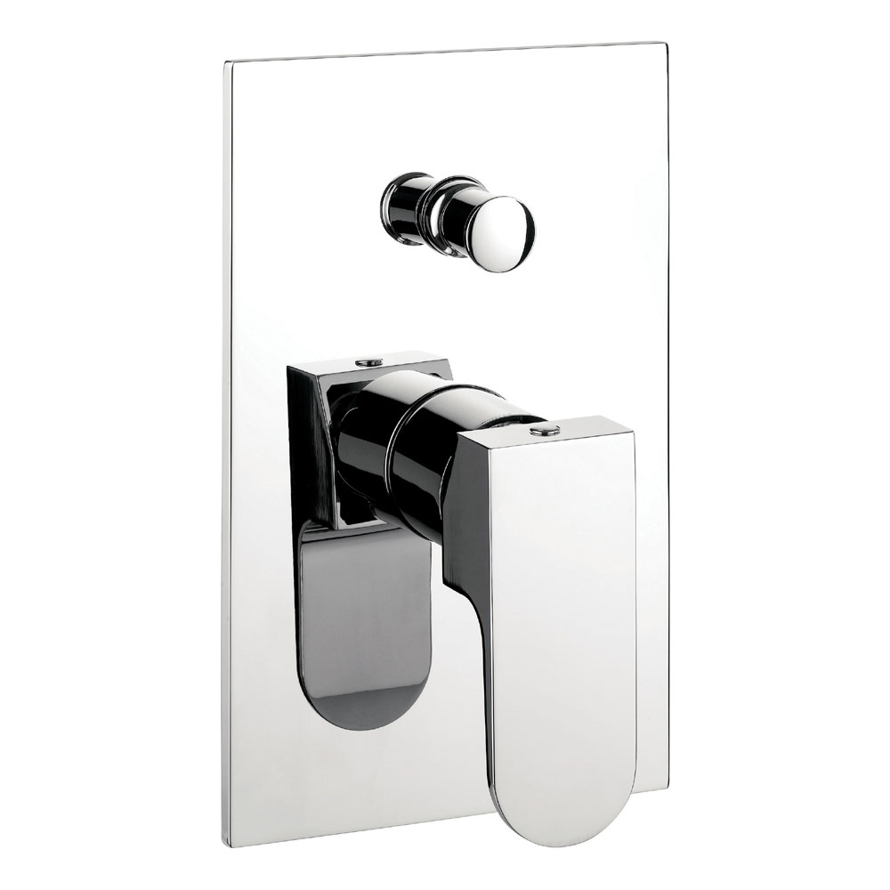 Crosswater - Modest Concealed Manual Shower Valve with Diverter - MO0005RC Large Image