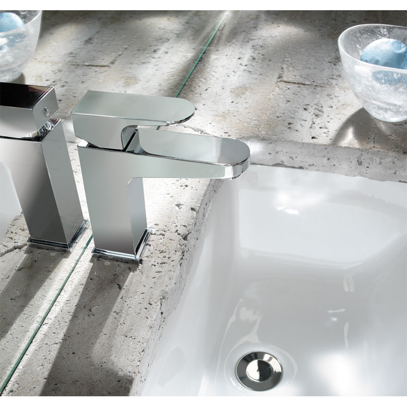 Crosswater - Modest Monobloc Basin Mixer - MO110DNC Profile Large Image