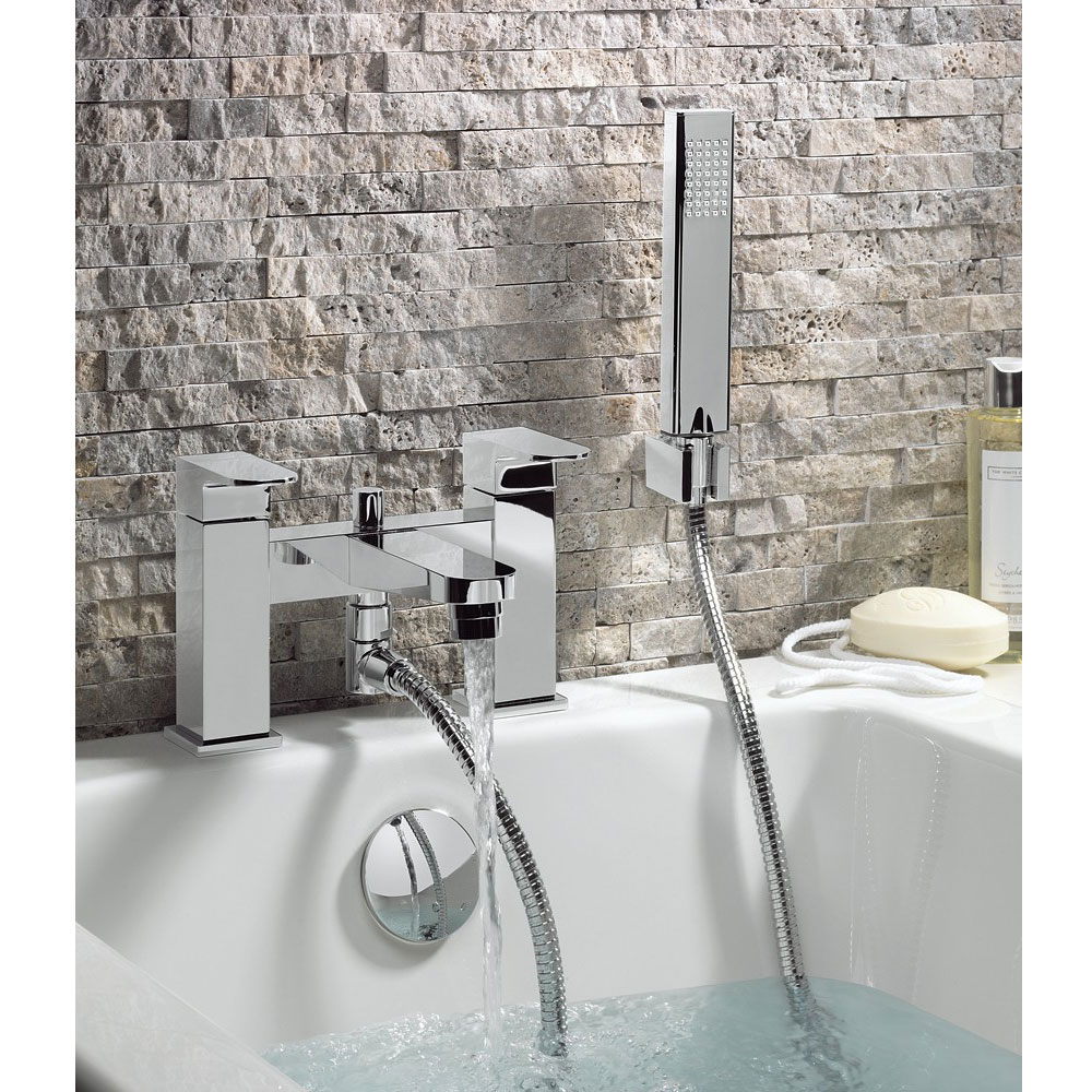 Crosswater - Modest Bath Shower Mixer with Kit - MO422DC profile large image view 2
