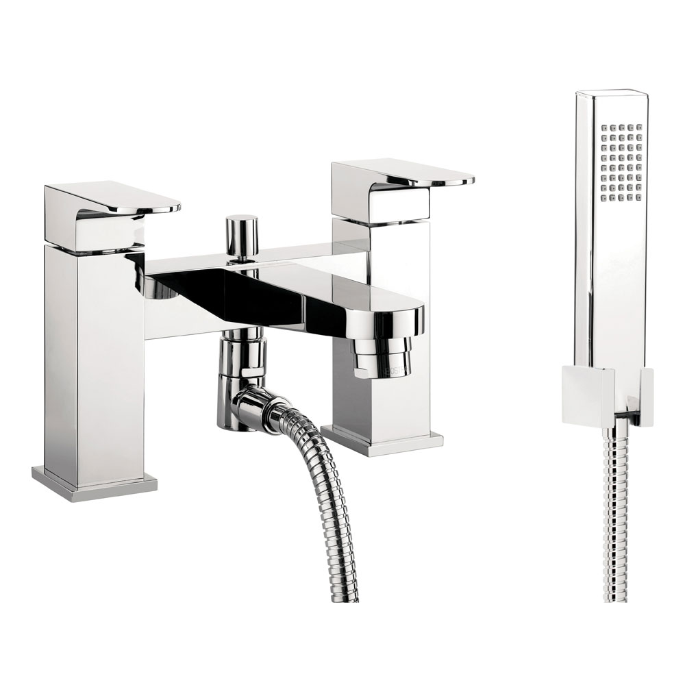 Crosswater - Modest Bath Shower Mixer with Kit - MO422DC profile large image view 1