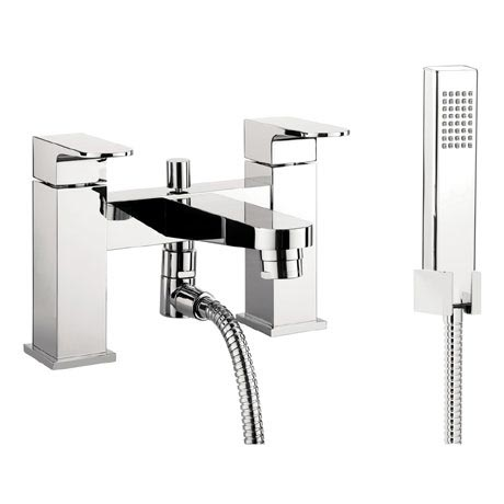 Crosswater - Modest Bath Shower Mixer with Kit - MO422DC