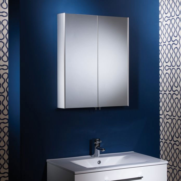 Tavistock Move Double Door Mirror Cabinet Standard Large Image