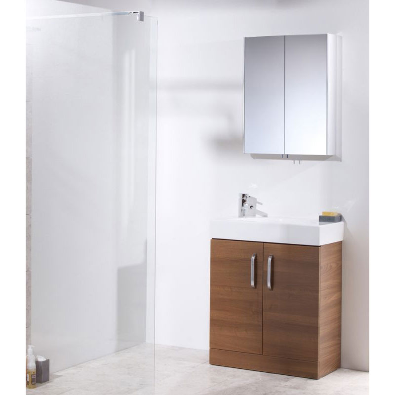 Tavistock Move Double Door Mirror Cabinet In Bathroom Large Image