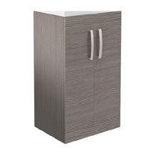 Brooklyn 500mm Grey Avola Floor Standing Vanity Cabinet (excluding Basin) Medium Image