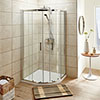 Turin 8mm Quadrant Shower Enclosure profile small image view 1