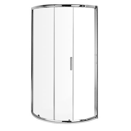 Turin 860x860mm Single Entry Quadrant 8mm Easy Fit Shower Enclosure