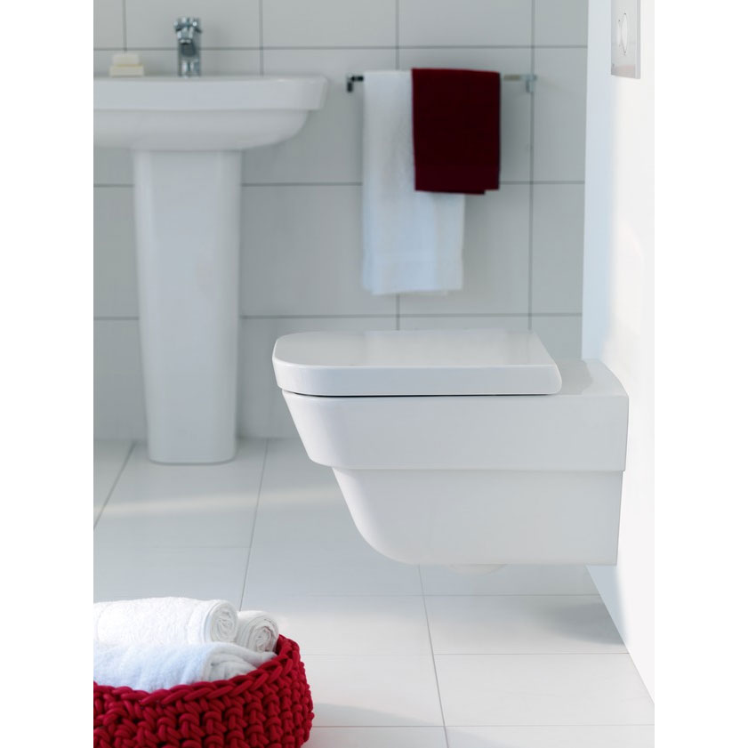 Laufen - Moderna Plus Wall Hung Pan with Toilet Seat - MODWC1 Profile Large Image