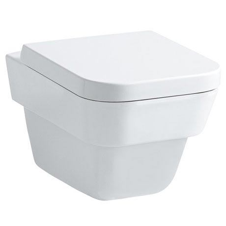 Laufen - Moderna Plus Wall Hung Pan with Toilet Seat - MODWC1