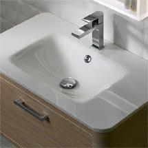 Roper Rhodes Moment 800mm Glass Ceramic Basin - MOM800CG Medium Image