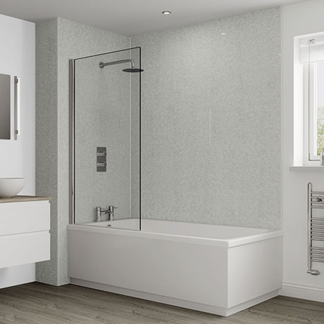 Multipanel Classic Frost White Bathroom Wall Panel