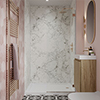 Multipanel Linda Barker Bianca Luna Bathroom Wall Panel profile small image view 1