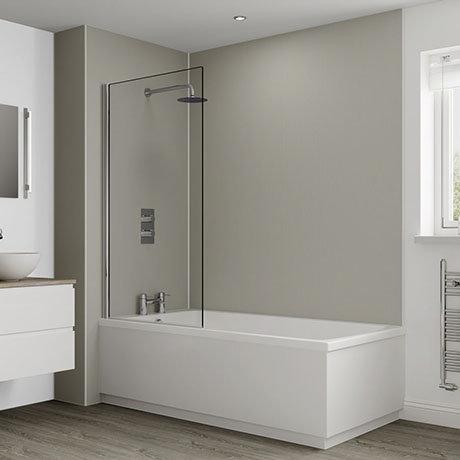 Multipanel Heritage Sarum Twill Plex Bathroom Wall Panel
