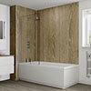 Multipanel Heritage Rural Oak Bathroom Wall Panel profile small image view 1