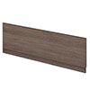 Brooklyn Mid Oak Front Straight Bath Panel Small Image