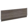 Brooklyn Grey Avola Wood Effect Bath Panel - Various Sizes profile small image view 1