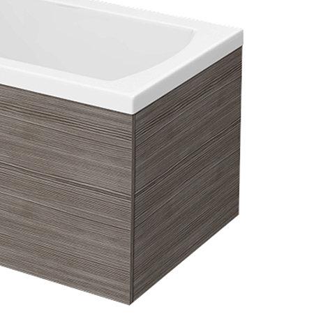 Brooklyn Grey Avola End Bath Panel for 1700mm L-Shaped Baths - MPD531