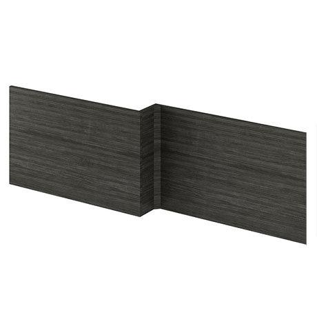 Brooklyn 1700 Black L-Shaped Front Bath Panel