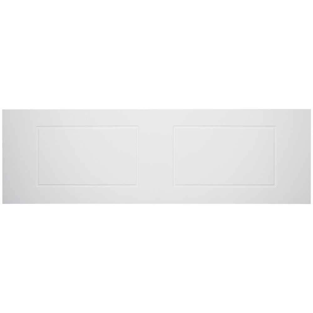 Tavistock Meridian 1700mm Routed Front Bath Panel - Gloss White profile large image view 1