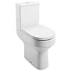 Milton Modern Round Comfort Height Toilet + Soft Close Seat profile small image view 1