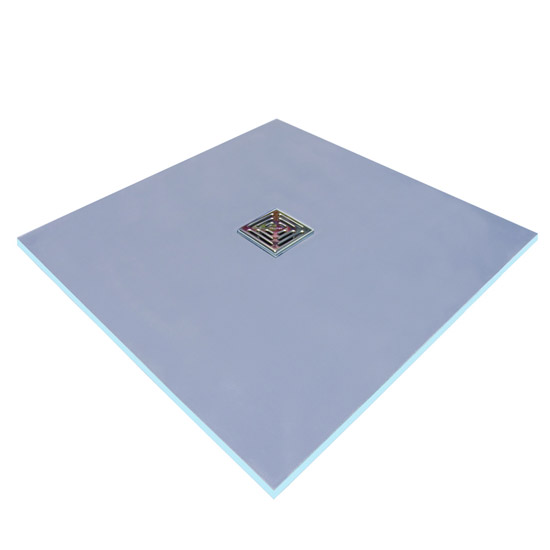 Marmox Wet Room Floor Tray - Centre Drain Large Image