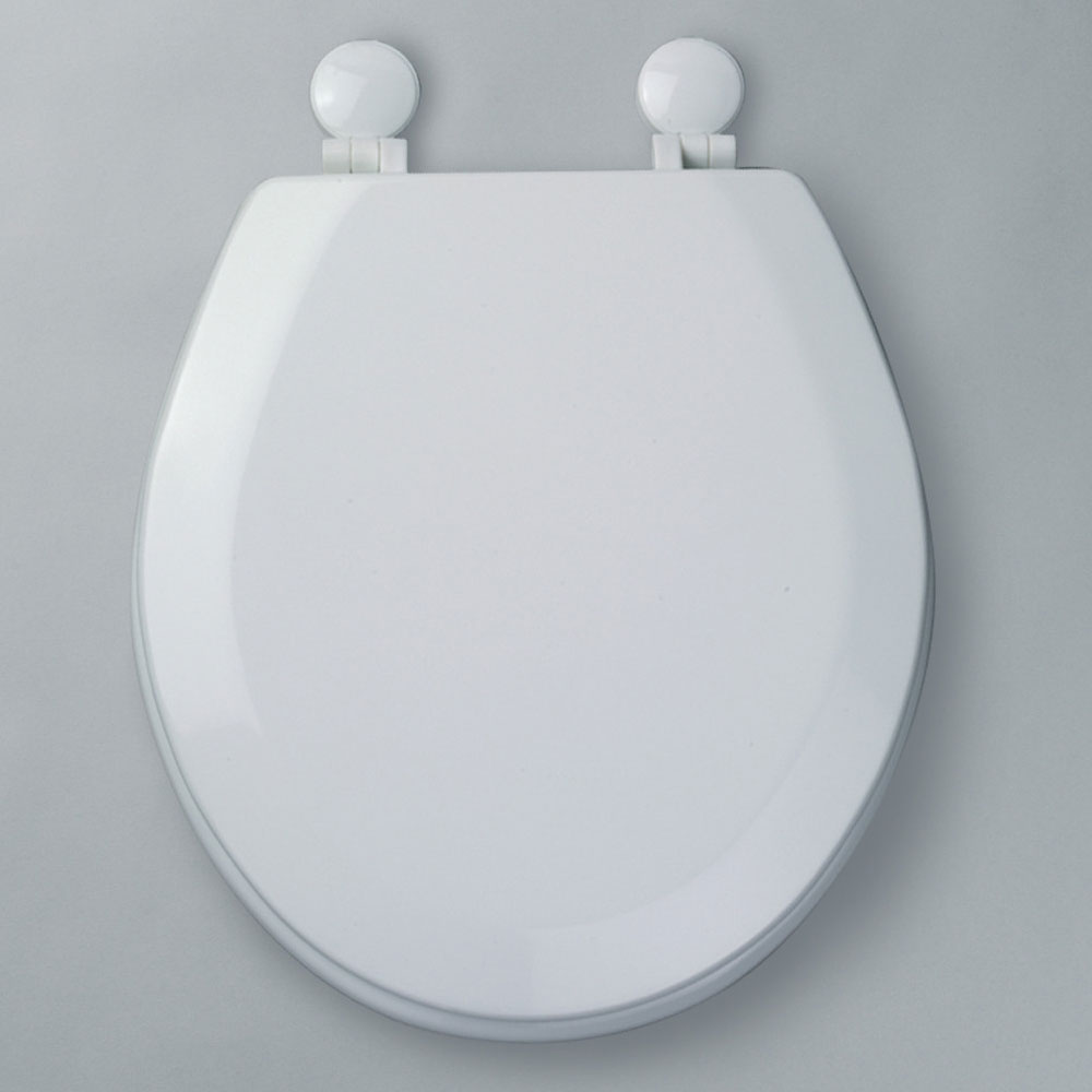 Tavistock Meridian Gloss White Moulded Wood Toilet Seat Profile Large Image