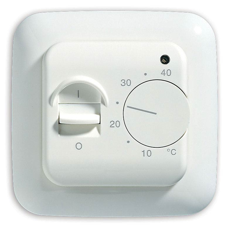 Warmup White Manual Thermostat - MSTAT Large Image