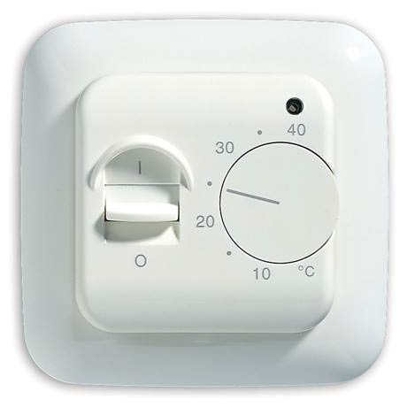 Warmup White Manual Thermostat - MSTAT