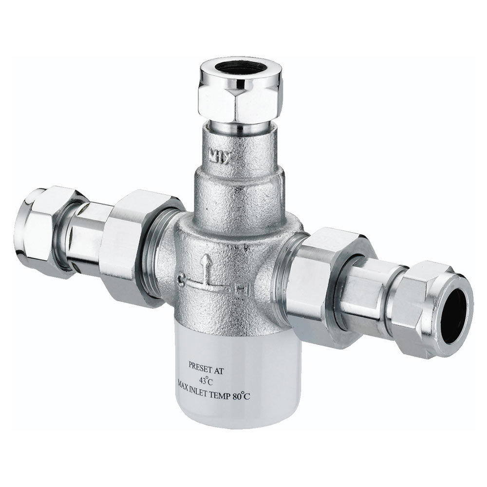 Bristan - Gummers 15mm Thermostatic Mixing Valve - MT503CP
