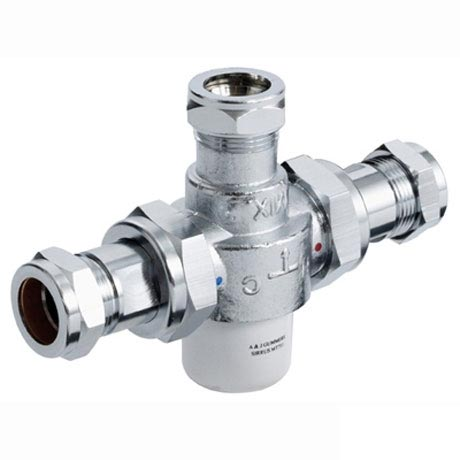 Bristan - Gummers 22mm Thermostatic Mixing Valve - MT753CP Large Image