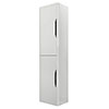 Monza Grey Mist Wall Mounted Tall Cupboard profile small image view 1