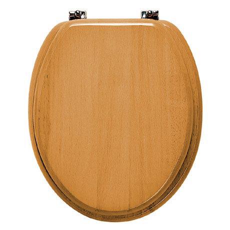 Roper Rhodes Malvern Wooden Toilet Seat - Antique Pine