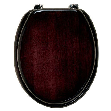 Roper Rhodes Malvern Wooden Toilet Seat - Mahogany
