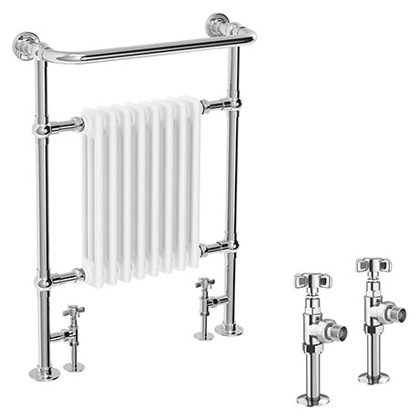 Savoy Traditional Radiator with Crosshead Valves