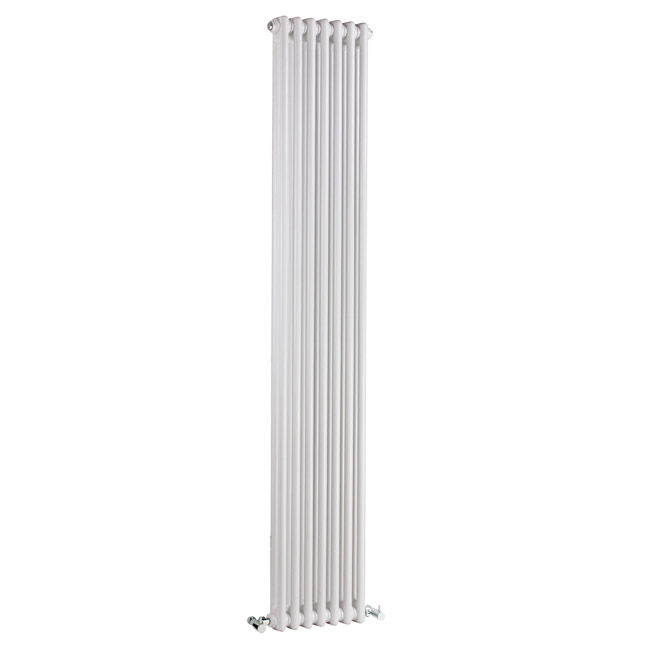 Premier - Regency 2 Column Radiator - 1800 x 335mm - White - MTY070 profile large image view 1