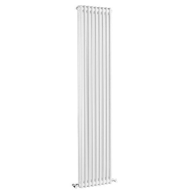 Premier - Regency 2 Column Radiator - 1800 x 425mm - White - MTY072 Large Image