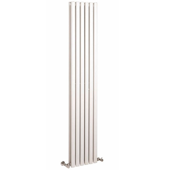 Premier - Ricochet Double Panel Radiator - 1750 x 354mm - White - MTY082 profile large image view 1