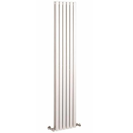 Premier - Ricochet Double Panel Radiator - 1750 x 354mm - White - MTY082