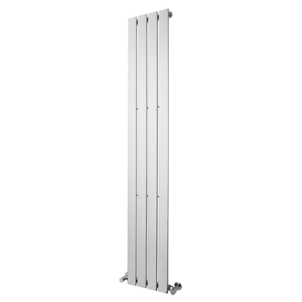 Premier - Flat Panel Designer Radiator - 1800 x 300mm - Chrome - MTY106 profile large image view 1