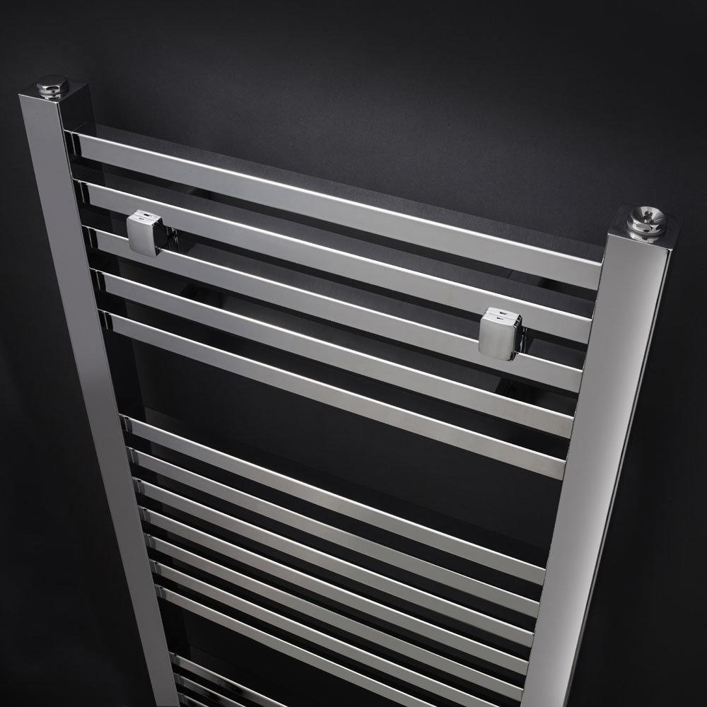 Premier - Square Ladder Rail - 1200 x 500mm - Chrome - MTY109 profile large image view 2
