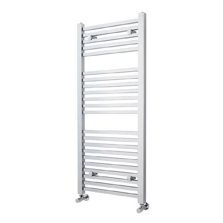 Premier - Square Ladder Rail - 1200 x 500mm - Chrome - MTY109