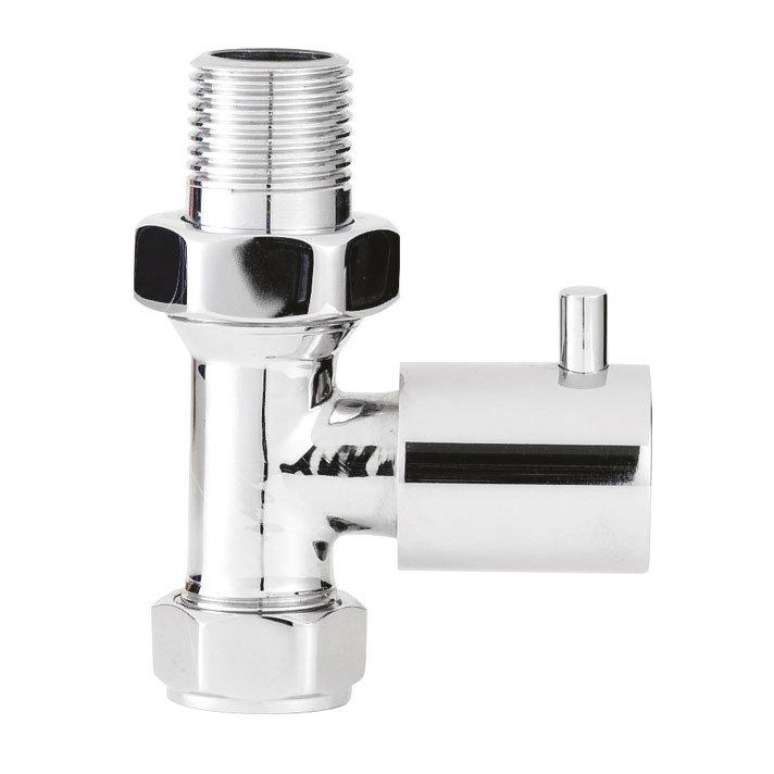 Premier - Minimalist Radiator Valves - Straight - MTY123 Large Image