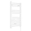 Nuie H720mm x W400mm White Electric Only Ladder Rail - MTY156 profile small image view 1
