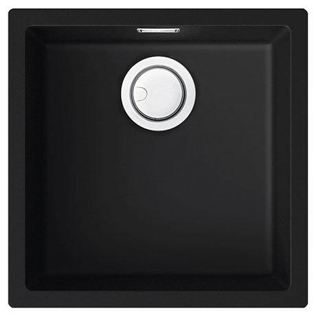 Reginox Multa 102 1.0 Bowl Granite Kitchen Sink - Black